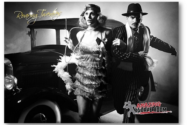 "Amazing Escape Room: Escape Room ""Roaring 20's"" By Amazing Escape Room In Los"
