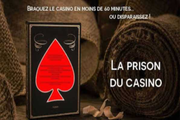 La prison du casino (Xcape-Room) Escape Room