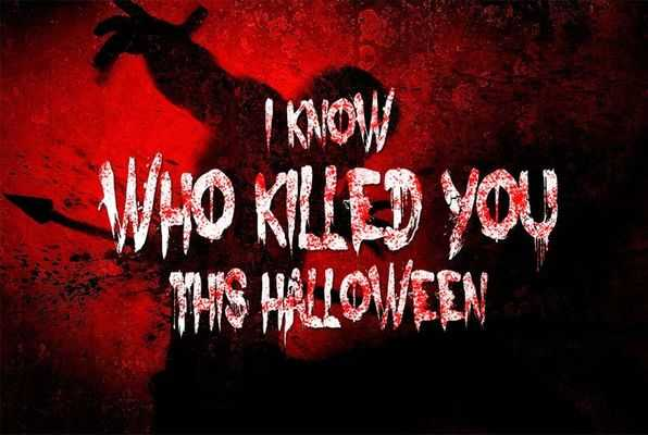 I KNOW WHO KILLED YOU LAST HALLOWEEN (Think Your Way Out) Escape Room