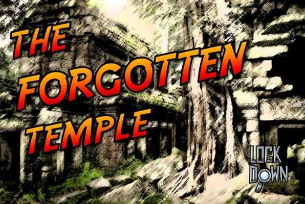 THE FORGOTTEN TEMPLE (Lock Down) Escape Room