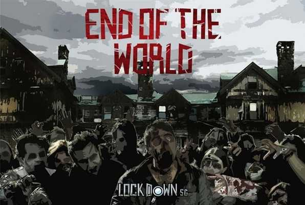 END OF THE WORLD - BREAK-IN (Lock Down) Escape Room
