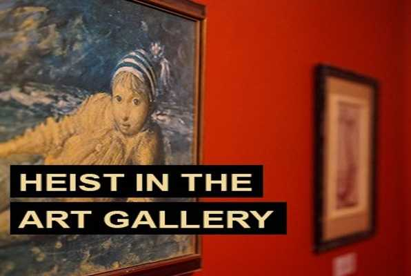 Heist in the Art Gallery (Escape Hunt) Escape Room