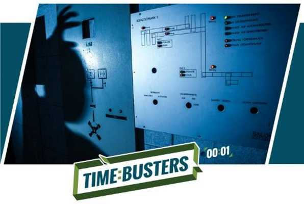 Kontrollraum (Time Busters) Escape Room