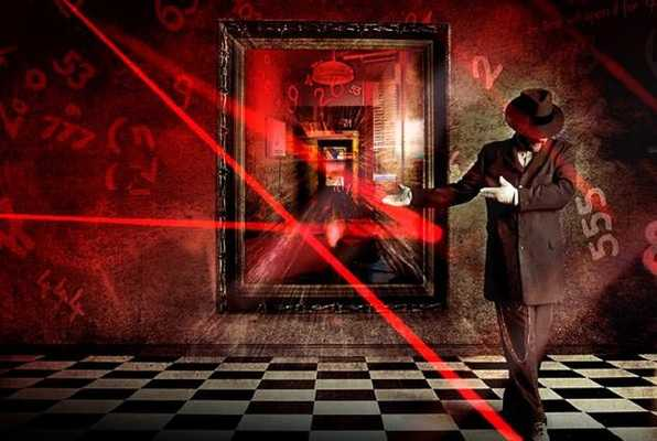Mirror mirror on the wall (The MindTrap) Escape Room