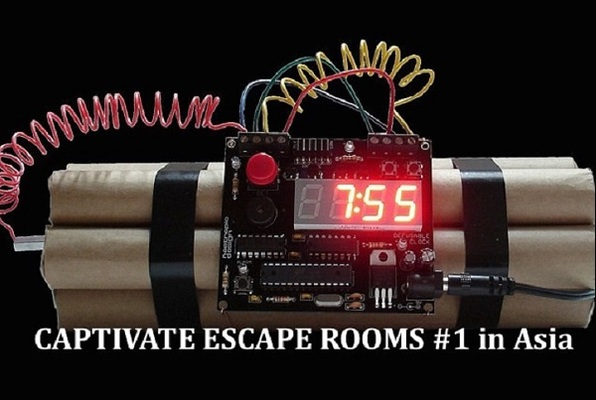 Captivate escape rooms fbi zero hour