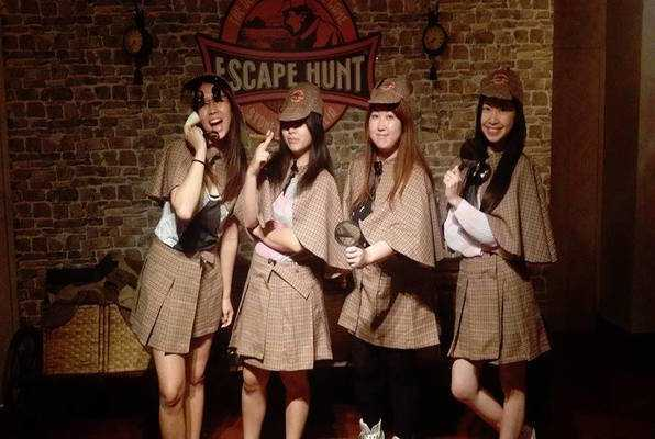 Assassin in the Pub (Escape Hunt) Escape Room