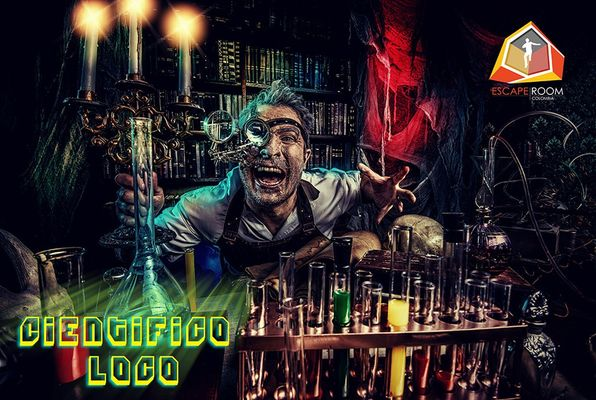 Científico Loco (Escape Room Colombia) Escape Room