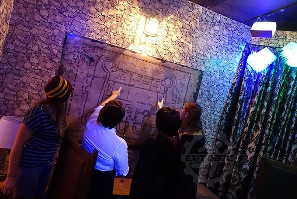 The School of Sorcery (Exit Game) Escape Room