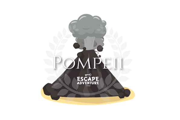Escape From Pompeii (Escape Adventure) Escape Room