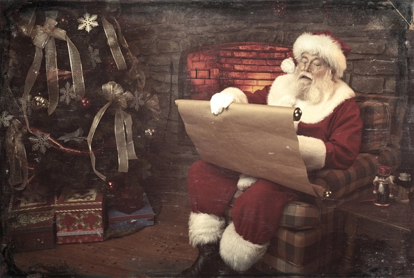 Santa's Lost his List