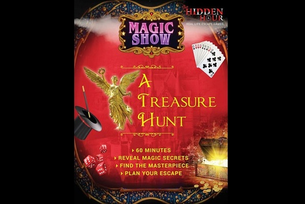 MAGIC SHOW - A TREASURE HUNT (The Hidden Hour) Escape Room