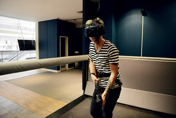 Virtual Reality (A/Maze Montreal) Escape Room