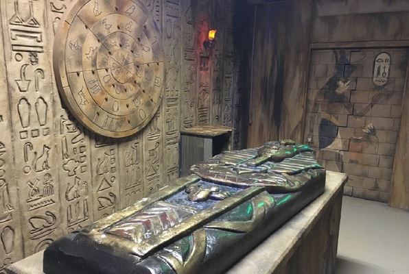 Escape Room Quot Cursed Egyptian Tomb Quot By Portsmouth Team