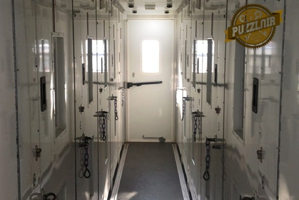 The Prison Van (Puzzlair) Escape Room
